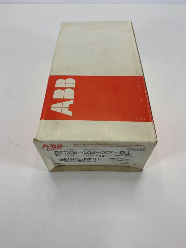 ABB CONTACTOR RELAY * BC25 30 32 01 3 pole NEW IN BOX