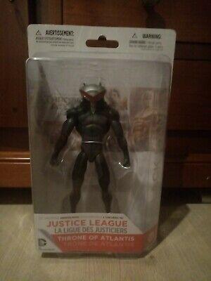 Justice League Black Manta Aquaman Throne of Atlantis Figure DC Collectibles