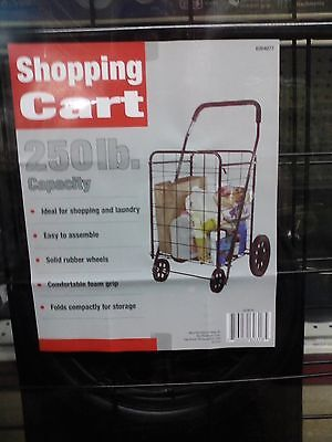Apex Shopping Cart 250 Lb. Capacity. New Sc9014