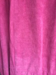 Pink leather for crafts