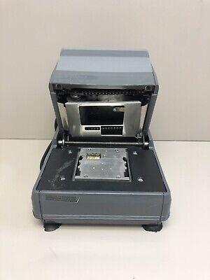 Addressograph 2000 Medical Electric Card Imprinter Embosser Machine