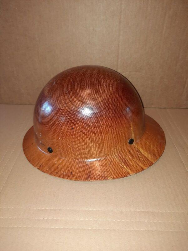 MSA 475407 Skullgard Hard Hat with Fas-Trac Suspension Natural Tan