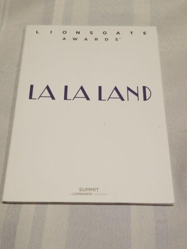 LA LA LAND FYC Screenplay. 2017 Oscar winners Blu-Ray Disc ,  Free Shipping