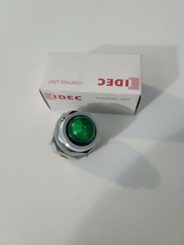 IDEC APD-199 Green Led PILOT LIGHT OPERATOR 30 mm New in Box 120-600v