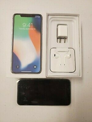 Apple iPhone X - 64GB - Space Gray (Verizon Unlocked) A1865 (CDMA + GSM)