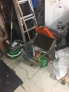 Lawn mower and snowblower combo $600 for pair