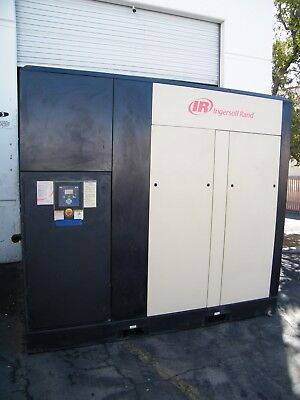 2009 Ingersoll Rand 150 Hp Rotary Screw Air Compressor Sullair R110iu-a125