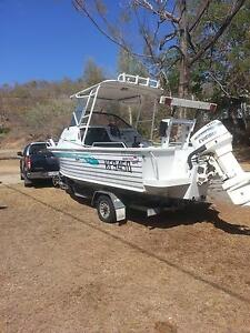 Great 5.6mtr Cuddy Cab Quintrex Spirit 115 Evenrude Pro outboard. Townsville City Preview