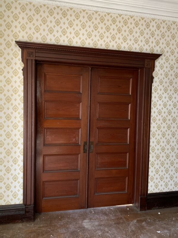 Antique Salvage Pocket Doors 1890's.