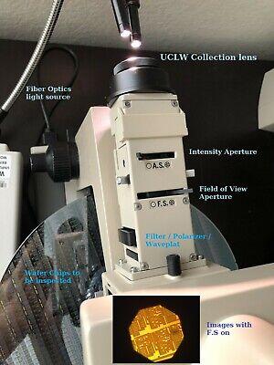 Olympus Bh2 Bhs Uma Wavefront Microscope Dic 5 Splan Objectives Sub-um Inspect