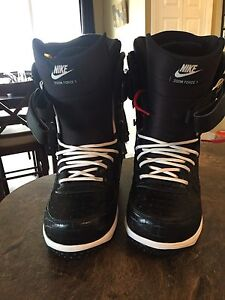 Used Once Size 12 Nike Zoom Force 1 Snowboard Boots