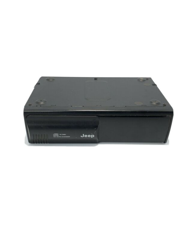 Jeep 10 Disc CD Auto Changer from Chrysler Model P56042129AG not tested for part