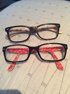 Women RAY BAN eyeglasses.