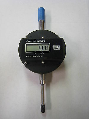 Brown Sharpe 599-1031 Digit-dial Ii Digital Dial Test Indicator Gauge Used