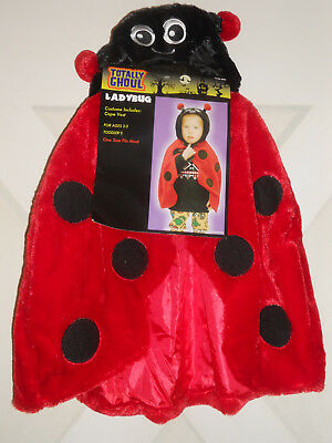 Hallowen Costumes For Kids (New ladybug cape kids costume  Ladybug hallowen costume toddler for age)