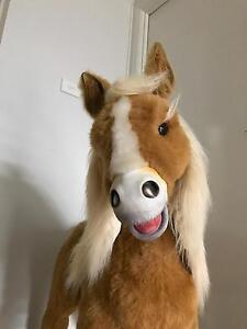 Butterscotch kids toy horse (large)& carrot Cranebrook Penrith Area Preview