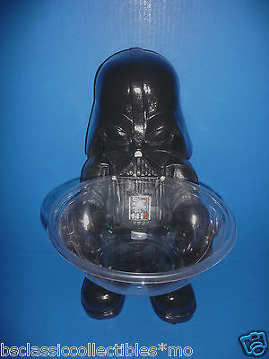 Star Wars Darth Vader Candy Bowl Holder- Rubies New! Halloween Candy Bowl Holder