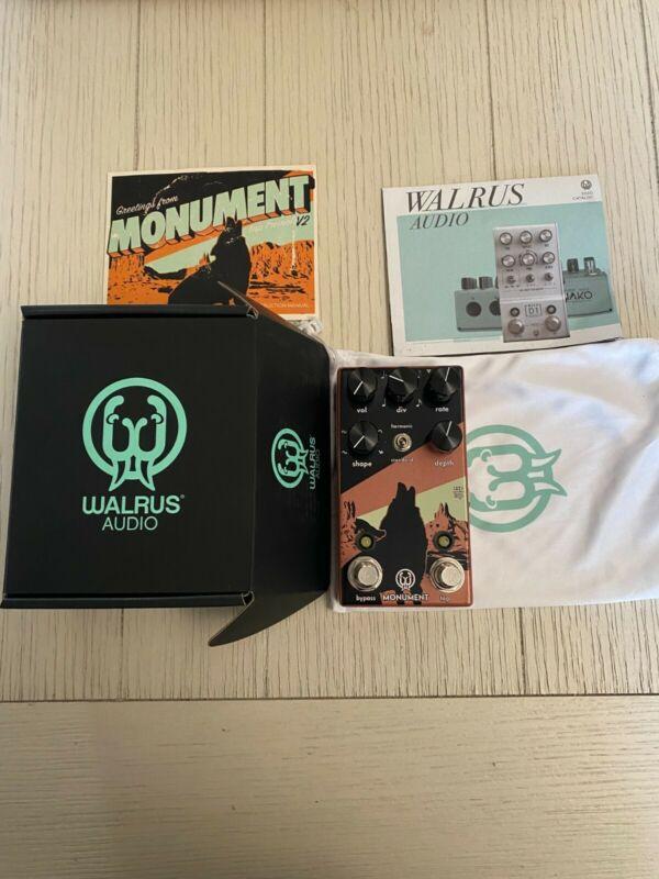 Walrus Audio Monument V2 Harmonic Tap Tremolo