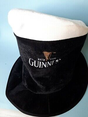 Guinness Halloween Costume (Mad hatter cat in the hat Guinness  Halloween  costume  top hat black &)