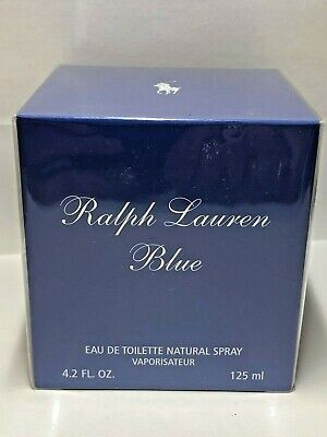 Ralph Lauren Blue 4.2 Oz Eau De Toilette Spray By Ralph Lauren New Box For Women