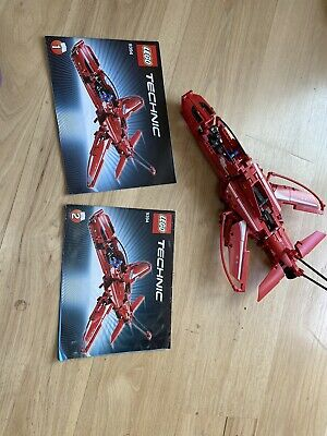 LEGO Technic Jet Plane (9394) SANITIZED, Assembled, No Box, Manuals 1&2 Included