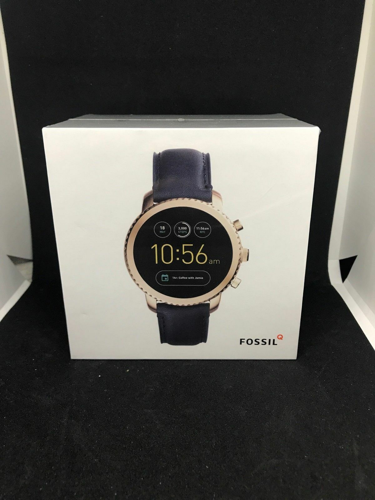 Fossil Q Men's Gen 3 Explorist Stainless Steel and Leather S