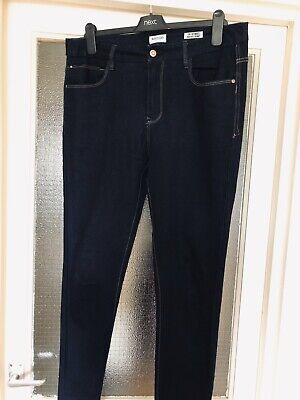 Kensie Jeans Dark Denim Slim Leg Jeans Size 14 VGC