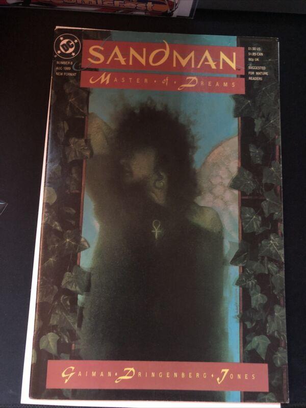 Sadman #8 1st Death!! Neil Gaiman
