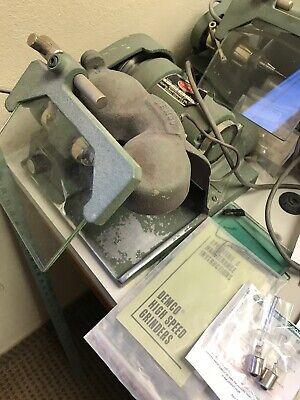 Demco High Speed Lathe Grinder Model B1 New Spindle Dental Lab