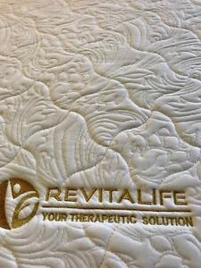REVITALIFT ELECTRIC MASSAGE ADJUSTABLE KING SINGLE BED used 2mths only