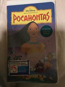 Pocahontas VHS brand new in plastic