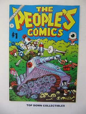 The People's  Comics  1972 $1.00 Cover  R. Crumb  Kitchen Sink, used for sale  Eugene