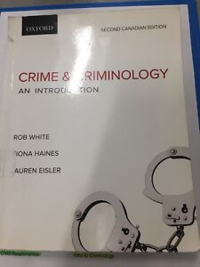 Crime and Criminology textbook