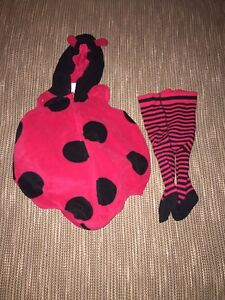 Lady bug costume size 12 month
