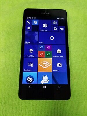 Nokia Lumia 950 Dual SIM 32GB Black RM-1118 (Unlocked) GSM Windows Phone VG787