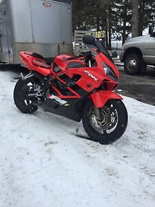 2002 Honda CBR600 F4 Financing Options Available
