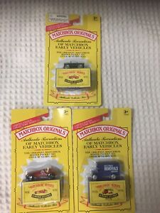 1993 Matchbox Originals MOC lot