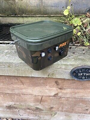 Fox Bivvy Power Pack/bank Carp Fishing Camping 12v 7.2ah, Complete With Charger