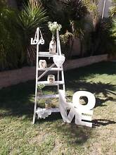 HIRE  -   CREAM WOODEN LADDER  -  HIRE Kinross Joondalup Area Preview