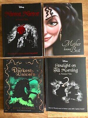 Disney Twisted Tale The Darkest Unicorn Mother Knows Best 4 Books Bundle