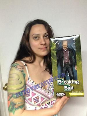 Breaking Bad Walter White 12 Jumbo Heisenberg TV Action Figure Hat Mezco Saul NR