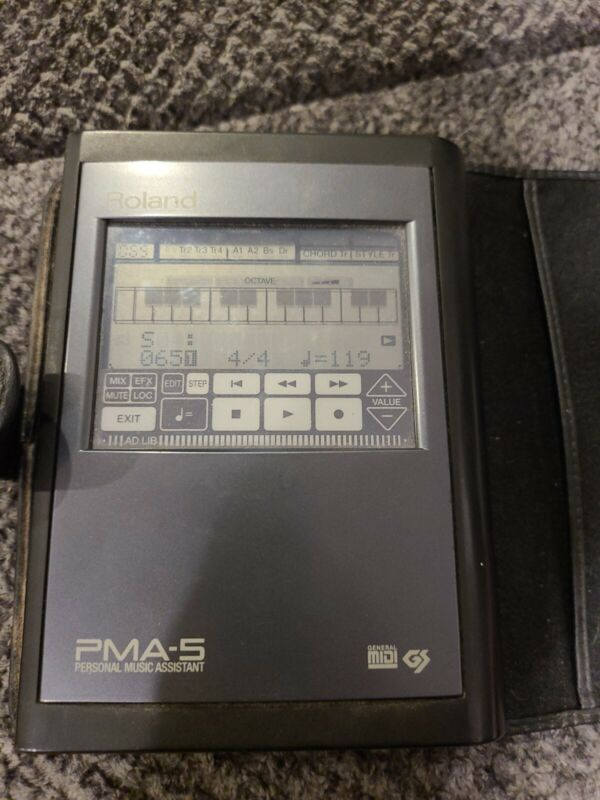 Roland PMA-5 Personal Music Assistant Sequencer