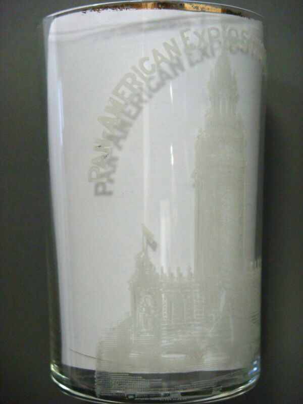 Glass - Pan-American Exposition. Buffalo 1901, ELECTRIC TOWER (FREE SHIPPING)