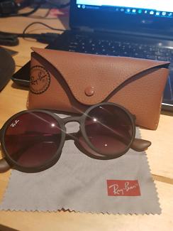 authentic rayban round sunglasses