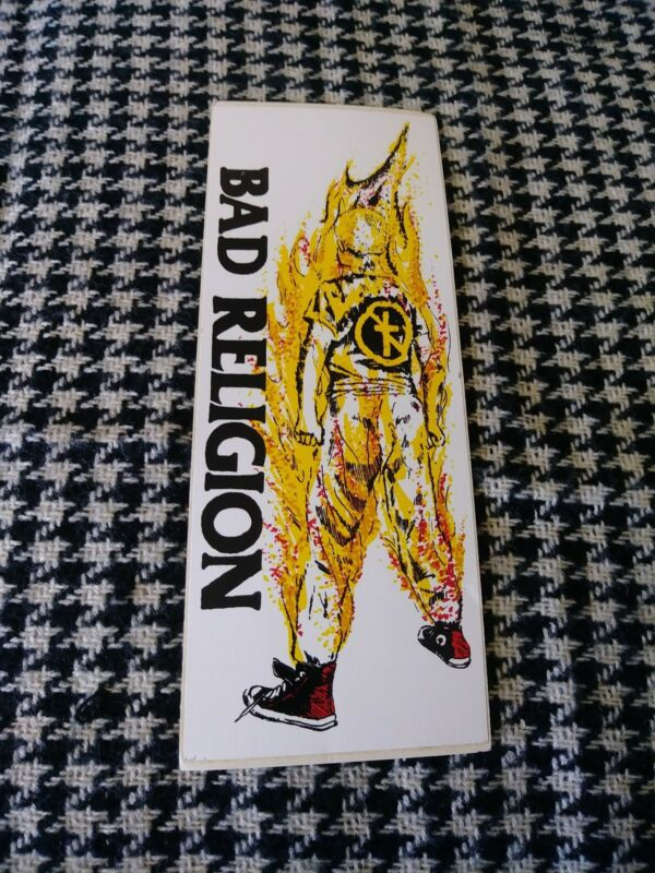 Bad Religion, sticker, music sticker, collectible sticker, NEW vintage sticker