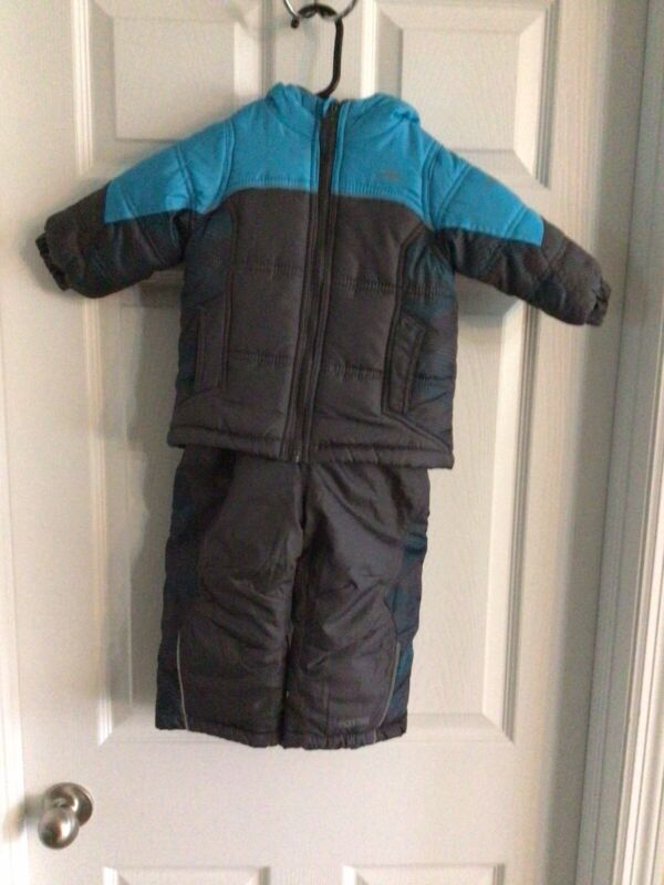 Pacific Trail Toddler Boy Winter Jacket Coat Snow Bib Pants Sz.18 Months