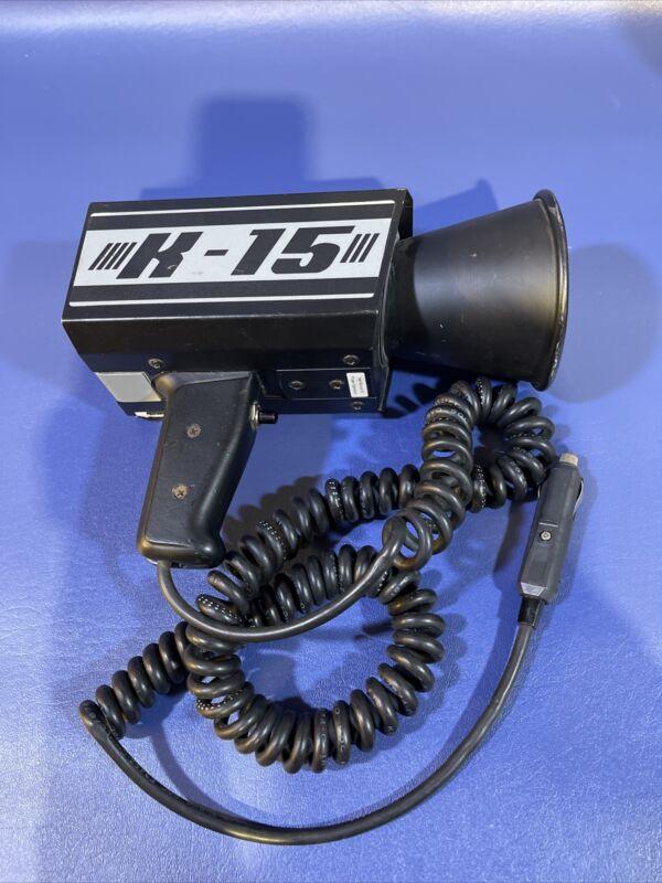K-15 MPH Police Radar Tested