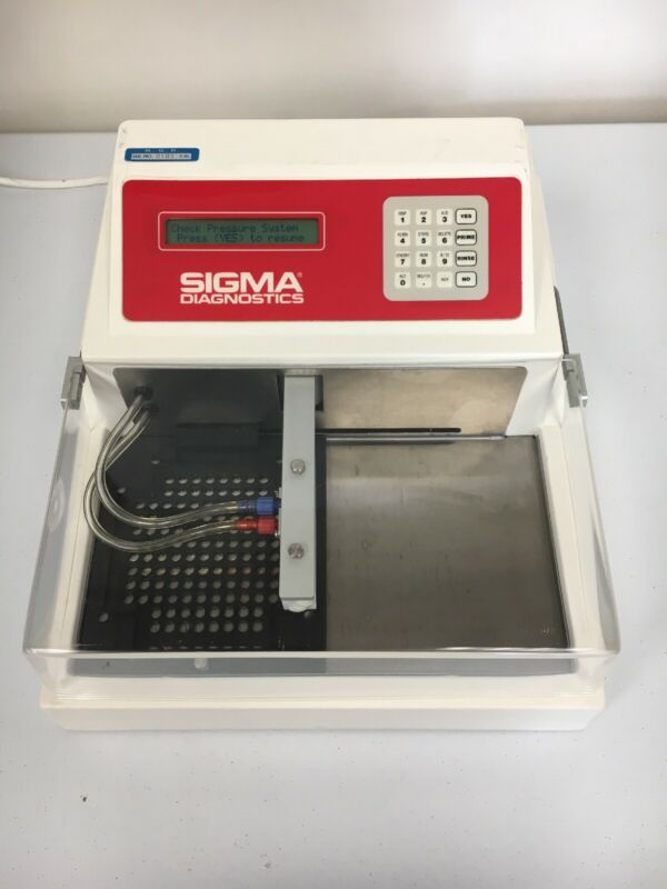 Sigma Diagnostics 2601 Microplate Washer