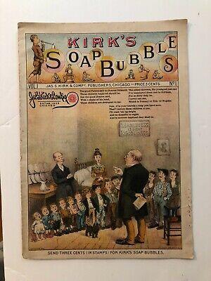 1886 J. Kirk Soap & Perfumes Advertising Booklet
