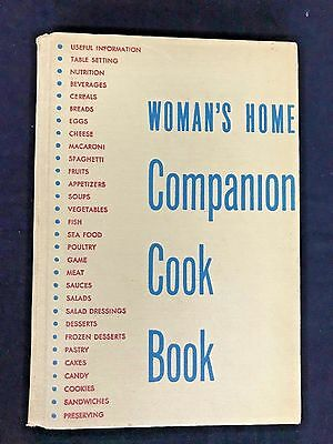 Vintage 1955 The Woman's Home Companion Cook Book FREE Shipping